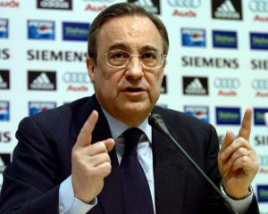 Florentino Perez gives us an idea of the size of Real Madrid's bank overdraft ...